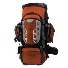Internal frame hiking backpack for outdoor camping travel backpacking