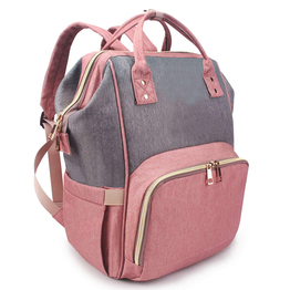 Diaper bag backpack multi function baby nappy storage bag fashion mummy bag