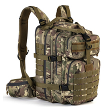Army molle hydration rucksack for hunting survival camping trekking military tactical backpack