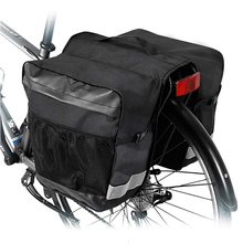 Water resistant bike rear seat trunk bag bicycle rear saddle panniers accesories