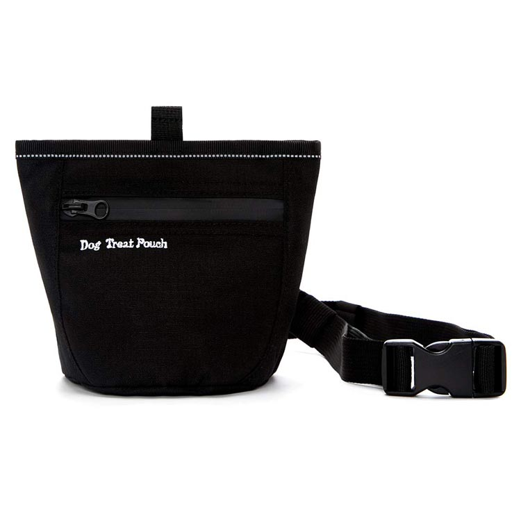 Dog treat pouch for training doggie puppy treat snack bag reward pouch dog treat carrier holder dog training bag