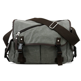 Men messenger bag school shoulder canvas vintage crossbody military satchel bag laptop