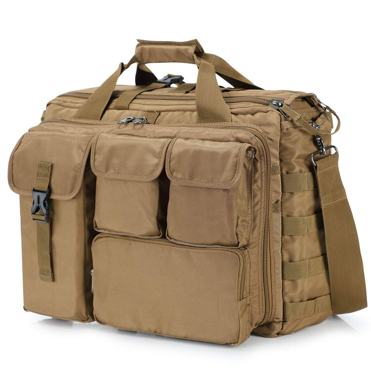Military laptop messenger bag multifunction tactical briefcase computer shoulder handbags