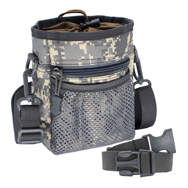 Tactical pet treat bag for puppy treat pouch waist bag carry toys kibble snacks poop bag dog training bag