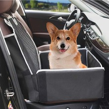 Pet front seat cover 2 in 1 dog car seat booster water resistant passenger seat protector pet car seat