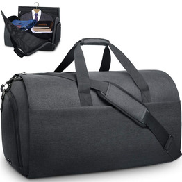 Garment bags convertible suit travel bag with shoes compartment waterproof large carry on duffel bags garment