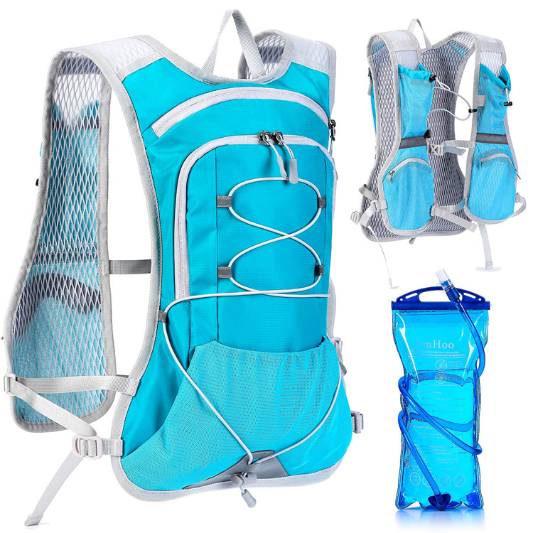 Hydration Pack Backpack with 2L TPU Water Bladder Perfect for Running
