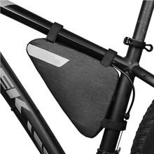 Bike Triangle Bag Bicycle Frame Pack Cycling Accessories Pouch for Cell Phone Frame Bag