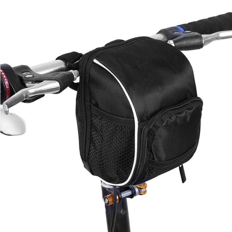 Multi Function Quick Release Bicycle Cycling Front Frame Tube Handlebar Bag Pouch Bike Frame Bag