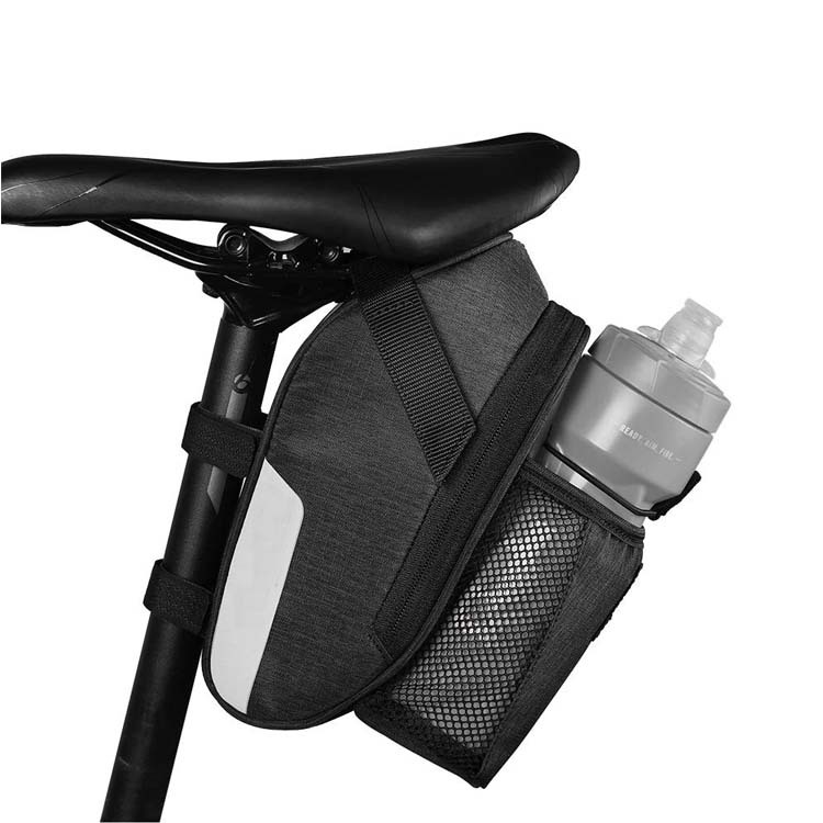 Large Capacity Bike Seat Pack Bicycle Under Seat Pouch Cycling Bag Bicycle Saddle Bag