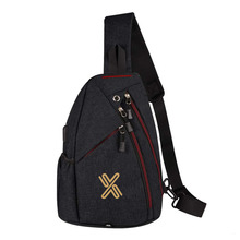 Casual Work Sling Daypack Tough Travel Shoulder Chest Pack for Sport Sling Bag