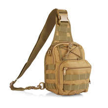 Tactical Single Shoulder Pack Crossbody Military Bag Molle Assault Sling Daypack for Camping Hiking Outdoor Sling Bag