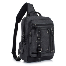 Outdoor Cross Body Bag for Men Shoulder Bag Sport Messenger Pack Sling Bag