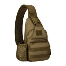 Tactical Sling Chest Pack Molle Daypack Military Shoulder Crossbody Bag Sling Bag