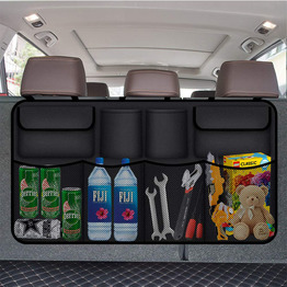 Auto Trunk Storage for SUV Backseat Organizer Water Resistant Durable Foldable Cargo Car Trunk Organizer