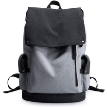 Lightweight Canvas Backpack Shoulder Daypack for 15.6 Inch Laptops