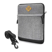 Durable Tablet Shoulder Bag for Work Ipad Protector Soft Shockproof Ipad Pouch