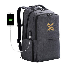 Laptop Backpack with Lunch Box USB Port Travel Computer Rucksack Large Capacity Busniess Commute Pack Picnic Cooler Bag
