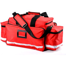 Large Capacity First Aid Responder Bag Empty EMT Trauma Bag