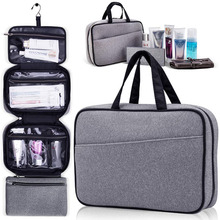 Makeup Cosmetic Hanging Bathroom Pack Multi Compartment Water Resistant Shower Travelling Toiletry Bag