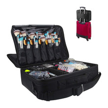 Cosmetic Organizer Makeup Case Beauty Artist Storage Brush Box Travel Toiletry Bag