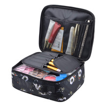 Travel Portable cosmetic Pouch Water Resistant Hanging Organizer Makeup Toiletry Bag