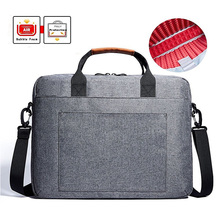 Portable Computer Messenger Bag for Travelling Business College and Office Briefcase