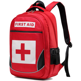 Medical First Aid Backpack Empty Emergency Treatment Backpack