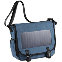 Solar Powered Backpack with High Efficiency Solar Panel Bag Solar Charger bag