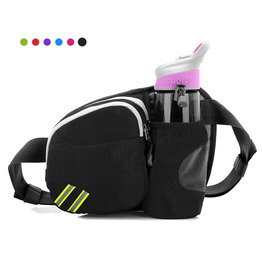 Hiking Waist Fanny Pack with Water Bottle Holder