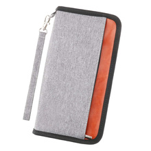Passport Holder RFID Blocking Water Resistant Document Organizer Case Travel Wallet