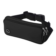 Comfortable Pouch Bag Unisex Fanny Waist Pack Workout Belt Sports Pack Pouch Travel Money Belt