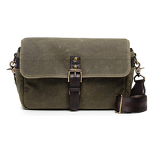 Camera Messenger Pack Waxed Canvas Portable Carry On Photographer Camera Bag