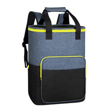 Insulated Leakproof Cooler Backpack Large Capacity Cooler Rucksack for Picnic Cooler Bag