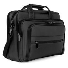 Men Laptop Bag Water Resistant Lightweight Shoulder Messenger Briefcase
