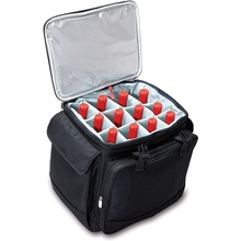 Insulated 12 Bottle Wine Picnic Bag with Integrated Trolley