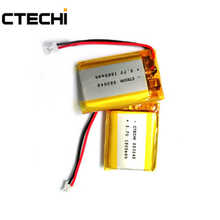 3.7V 1000mAh li-poly medical device lighting radio lithium battery