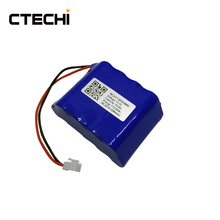 Rechargeable 18650 11.1v 10.2Ah lithium battery pack