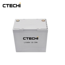 12V 20Ah energy storage lifepo4 battery pack