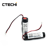 Rechargeable  3.6v 3350mAh lithium battery pack