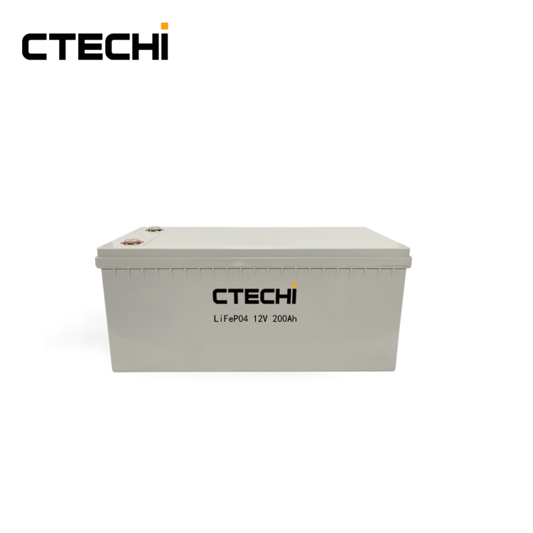 12V 200Ah Energy Storage LiFePO4 Battery Pack