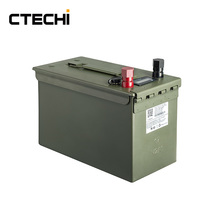 Rechargeable Li-ion Battery Pack 14.8V 100Ah for Military