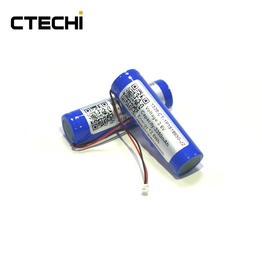 3.6V 3350mAh 18650 Rechargeable Lithium Ion Battery Pack for flashlights