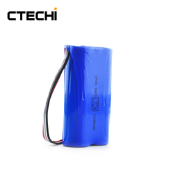 7.4V 2200mAh 18650 Li-ion Battery Pack for Security Products