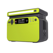 500W Portable Power Station LiFePO4 Battery Pack Outdoor Energy Storage System