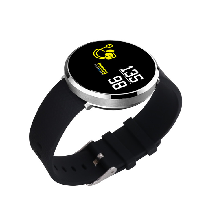 Colourful smart watch
