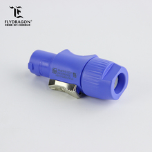 LED Display Widely Used Blue Quick Connect Electrical Connectors