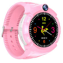 New Model 1.4 Inch Round Screen Smart Watch for Kids Boys With GPS