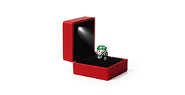 The jewelry in the jluxury jewelry packaging boxes represents different meanings