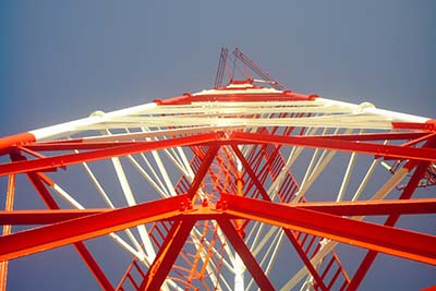 Self Supporting Tubular Tower Steel Tube Tower